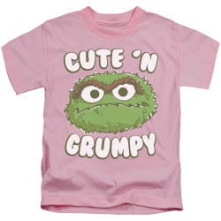 Image for Sesame Street Kids T-Shirt - Oscar Cute 'n Grumpy