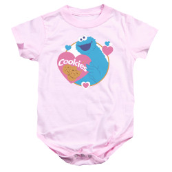 Image for Sesame Street Baby Creeper - Love Cookies
