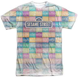 Image for Sesame Street T-Shirt - Color Block