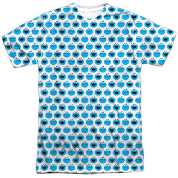 Image for Sesame Street T-Shirt - Cookie Monster Pattern
