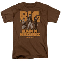 Image for Firefly T-Shirt - Big Damn Heroes