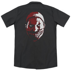 Image Closeup for American Horror Story Dickies Work Shirt - the Clown