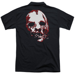 Image Closeup for American Horror Story Polo Shirt - Bloody Face