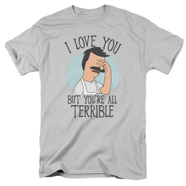 Image for Bob's Burgers T-Shirt - Love You Terribly
