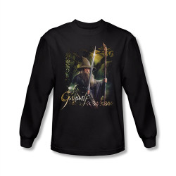 Image for The Hobbit Desolation of Smaug Sword and Staff long sleeve T-Shirt