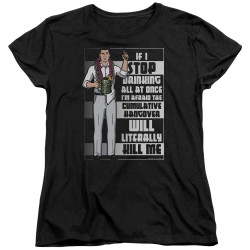 Image for Archer Womans T-Shirt - Killer Hangover
