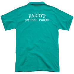 Image Closeup for It's Always Sunny in Philadelphia Polo Shirt - Paddy's Logo
