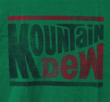 Image for Mountain Dew Distressed T-Shirt