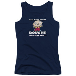 Image for Family Guy Girls Tank Top - Douche the Night Away