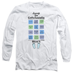 Image for Office Space Long Sleeve Shirt - Jump to Conclusions