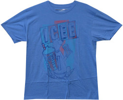 Image Closeup for Classic Icee Distressed T-Shirt