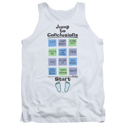 Image for Office Space Tank Top - Jump to Conclusions