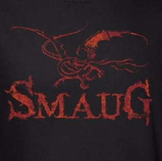 Image for The Hobbit Desolation of Smaug Dragon T-Shirt