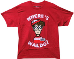 Image for Where's Waldo Distressed T-Shirt