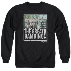 Image for The Sandlot Crewneck - the Great Bambino