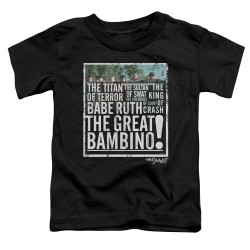 Image for The Sandlot Toddler T-Shirt - the Great Bambino