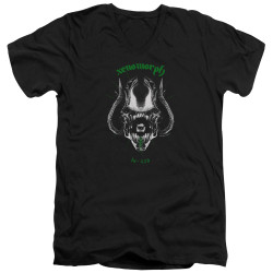 Image for Alien V Neck T-Shirt - Xenomorph