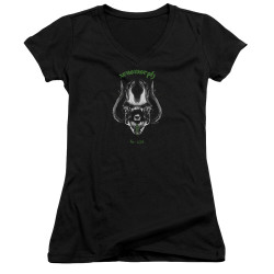 Image for Alien Girls V Neck - Xenomorph