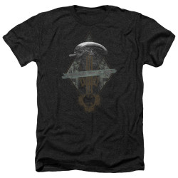 Image for Alien Heather T-Shirt - Prison Planet Collage