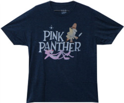 Image Closeup for Pink Panther Distressed T-Shirt