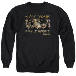 Labyrinth Crewneck - Say Your Right Words