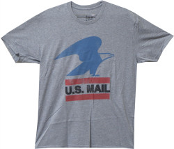 Image Closeup for US Post Office Distressed T-Shirt
