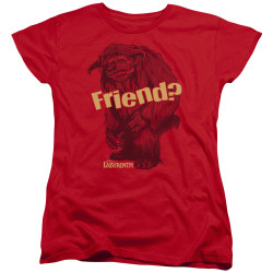 Labyrinth Womans T-Shirt - Ludo Friend