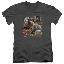 Labyrinth V Neck T-Shirt - Sir Didymus