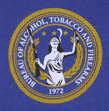Image for Bureau of Alcohol, Tobacco, & Firearms T-Shirt