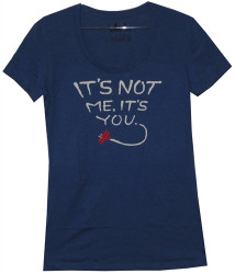 Image for It's Not Me It's You Girls T-Shirt
