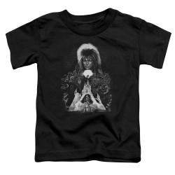 Image for Labyrinth Toddler T-Shirt - Castle
