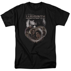Image for Labyrinth T-Shirt - Globes