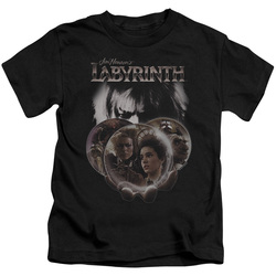 Image for Labyrinth Kids T-Shirt - Globes