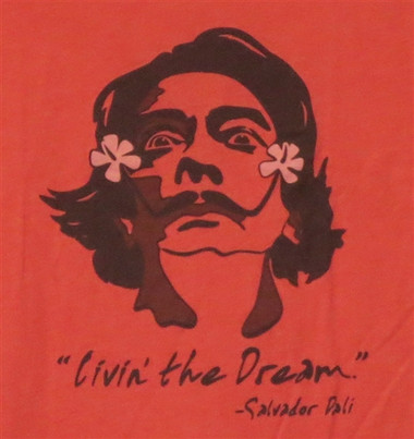 Image for Salvador Dali Livin' the Dream T-Shirt