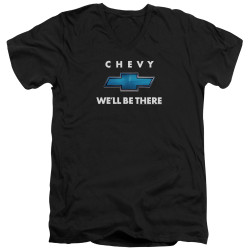 Image for General Motors V Neck T-Shirt - We'll Be There
