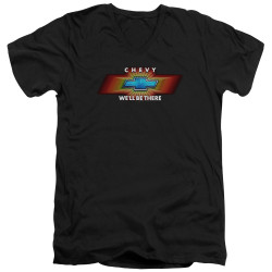 Image for General Motors V Neck T-Shirt - We'll Be There TV Spot