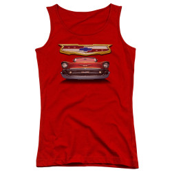 Image for General Motors Girls Tank Top - 1957 Bel Air Grille