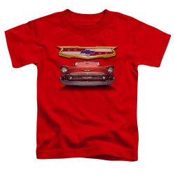 Image for General Motors Toddler T-Shirt - 1957 Bel Air Grille