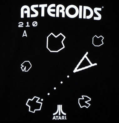 Image for Asteroids T-Shirt