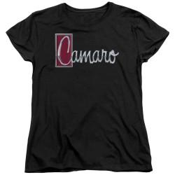 Image for General Motors Womans T-Shirt - Chrome Script