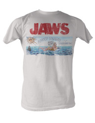 35499af2 Image for Jaws Amity Island Welcomes You T-Shirt
