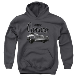 Image for General Motors Youth Hoodie - Script Car