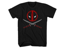 Image for Deadpool T-Shirt - Cross Swords