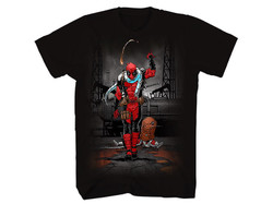 Image for Deadpool T-Shirt - Walk Away Red