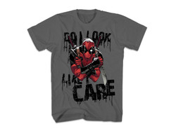 Image for Deadpool T-Shirt - Do I Look Like I Care?