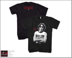 Image Closeup for John Lennon New York T-Shirt