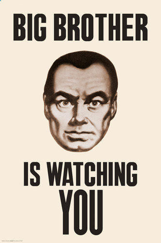 Image for Big Brother Watching You Poster