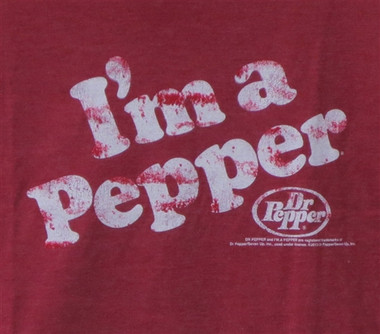 Image for I'm a Pepper Distressed T-Shirt