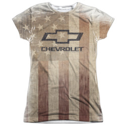 Image for Chevy Girls T-Shirt - American Pride
