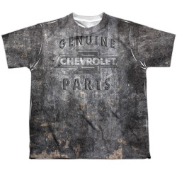 Image for Chevy Youth T-Shirt - Metal Bow Tie